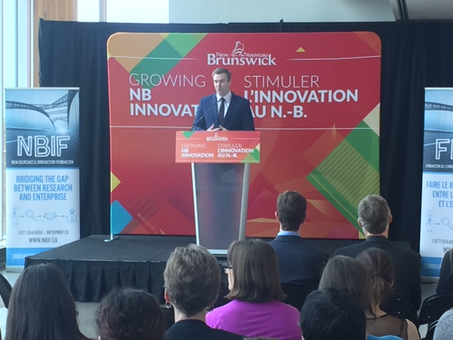 Province of N.B. will invest $11.4 million to support NBIF research and development programs